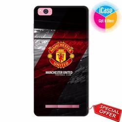 Ốp lưng Xiaomi Mi 4C - Nhựa dẻo in hình Câu lạc bộ Manchester United