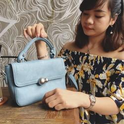 Túi xách nữ màu xanh dương đẹp nhẹ nhàng cực cuốn hút