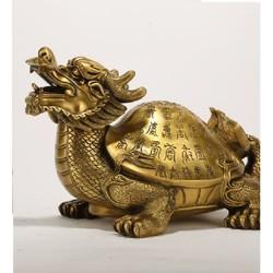 Tượng rùa bằng đồng linh vật phong thủy thờ cúng