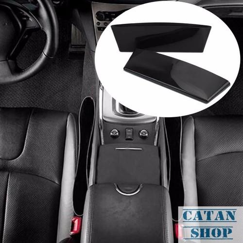 Combo 2 Khay, túi, hộp đựng đồ ghế lái trên xe hơi, ô tô, cao cấp