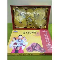 Nấm linh chi hộp quà cô gái Hàn Quốc cao cấp 1kg kèm quà tặng