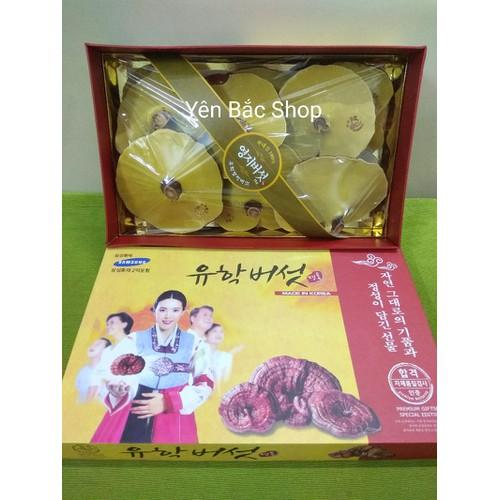 Nấm linh chi hàn quốc hộp quà cô gái  1kg