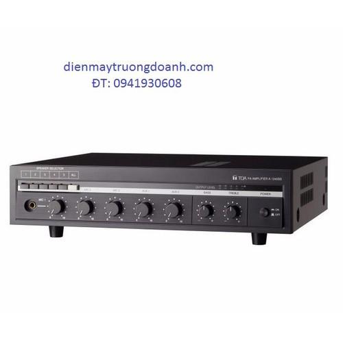 TOA A-1360 SS AS Amply âm ly truyền thanh chia 5 vùng nhập khẩu