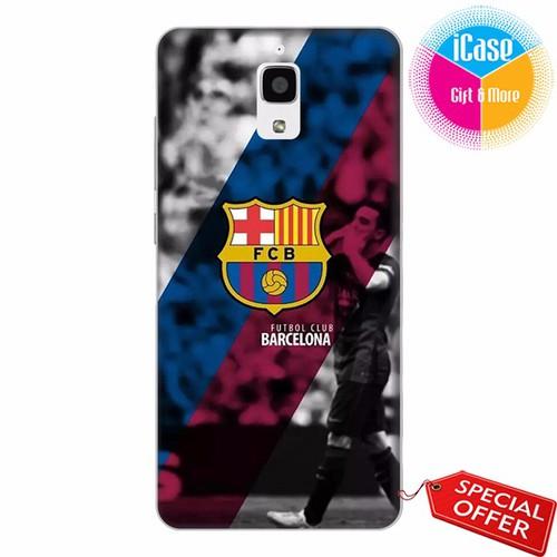 Ốp lưng xiaomi mi 4 - nhựa dẻo in hình câu lạc bộ barcelona