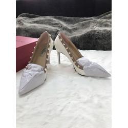 Giày búp bê, cao gót