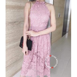 Đầm Dự Tiệc Ren Hoa Hot Giá Sốc