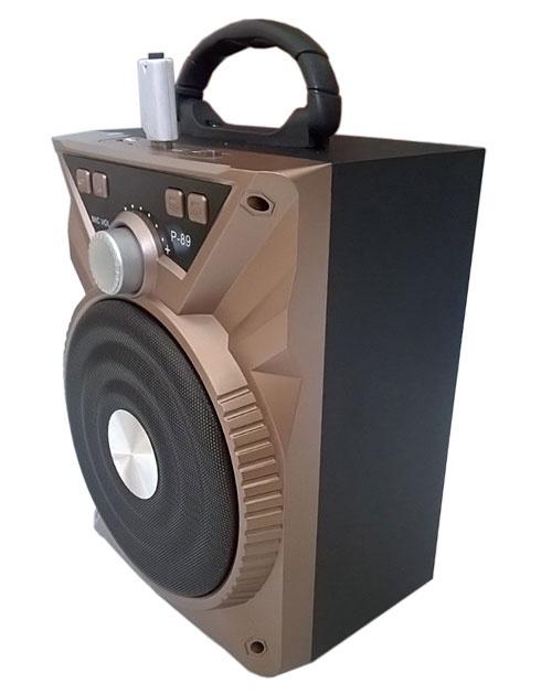 -freeship- Loa Karaoke Bluetooth P88-P89 Tặng Kèm Micro 11