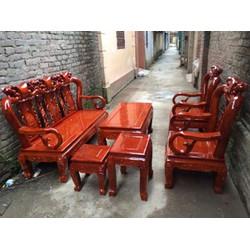 Bộ bàn ghế Minh Quốc Đào gỗ Xà Cừ