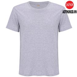 Áo thun nam thoát nhiệt Nhật Bản, 100 cotton, kháng khuẩn, khử mùi