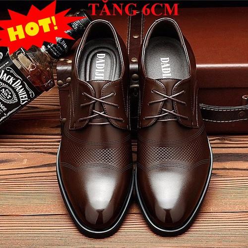 Giày Nam - Giày Độn Nam - Giày Tây Tăng Chiều Cao