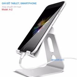 Giá đỡ điện thoại, tablet, iphone, ipad hợp kim nhôm cao cấp