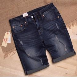 Quần Short Jeans Xanh Đậm