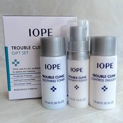 Bộ dưỡng dành cho da bị mụn IOPE 3sp