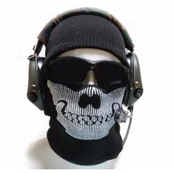 Sỉ lẻ Mũ len Ghost, mũ len hiphop hình đầu lâu , mũ ninja ấm áp