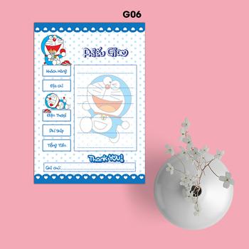 Phiếu Giao Hàng Doraemon - G06