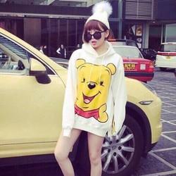 Áo hoodie gấu Pooh- hàng mới