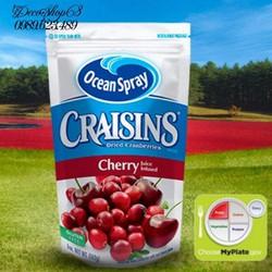 Quả Nam việt quất và nước ép cherry sấy khô nhập khẩu Mỹ 142g