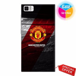 Ốp lưng Xiaomi Mi 3 - Nhựa dẻo in hình Câu lạc bộ Manchester United