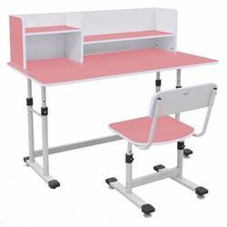 Bàn học sinh giá rẻ tphcm BHS-13-07 màu hồng