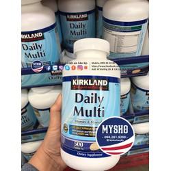 Daily Multi 500v, bổ sung vitamin tổng hợp mỗi ngày