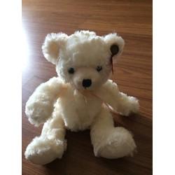 Gấu bông Teddy nhỏ màu trắng