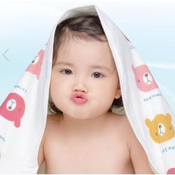 Khăn mặt 100 cotton 2 lớp, an toàn cho bé!! 26x50 cm