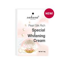 Kem tắm trắng toàn thân ngọc trai tơ tằm Sakura