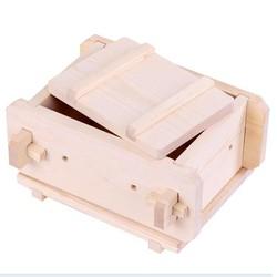 khuôn gỗ làm đậu hũ sạch 800gr - Tofu-Making Kit