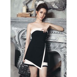 Đầm cúp ngực dự tiệc thiết kế đơn giản ôm body