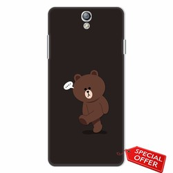 Ốp lưng nhựa dẻo Oppo Find 5 Mini_Gấu Brown Dễ Thương