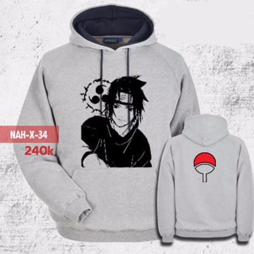 Áo khoác hoodie sasuke