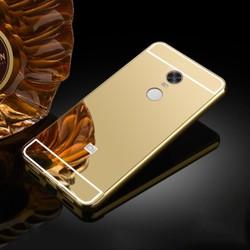 Ốp lưng Xiaomi Redmi Note 4X viền nhôm tráng gương