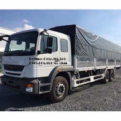 Xe tải Fuso 3 chân, xe tải Mitsu 15 tấn.