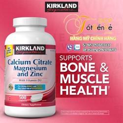 Calcium Citrate Kirkland 500 viên