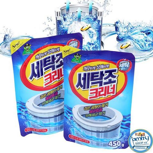Bột tẩy vệ sinh lồng máy giặt hàn quốc - 16911626 , 7403254 , 15_7403254 , 105000 , Bot-tay-ve-sinh-long-may-giat-han-quoc-15_7403254 , sendo.vn , Bột tẩy vệ sinh lồng máy giặt hàn quốc