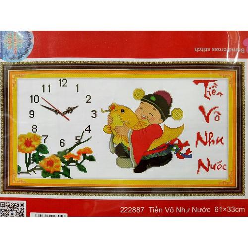 Tranh thêu đồng hồ thần tài - 7723430 , 7405990 , 15_7405990 , 70000 , Tranh-theu-dong-ho-than-tai-15_7405990 , sendo.vn , Tranh thêu đồng hồ thần tài