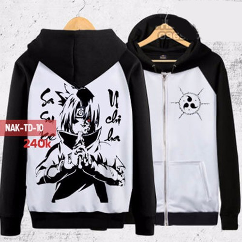 Áo khoác uchiha sasuke nguyền ấn