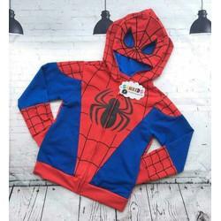 Áo khoác nhện dành cho bé trai