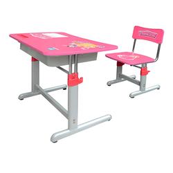 Bàn ghế học sinh giá rẻ tphcm BHS-20-03 màu hồng