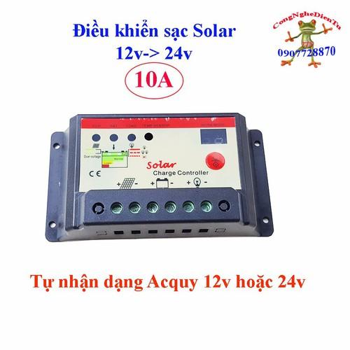 Điều khiển sạc pin mặt trời 10a