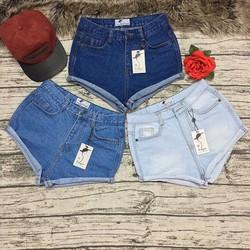 QS177 - Quần short jeans nữ rách