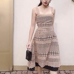 váy ren 2 dây cực xinh