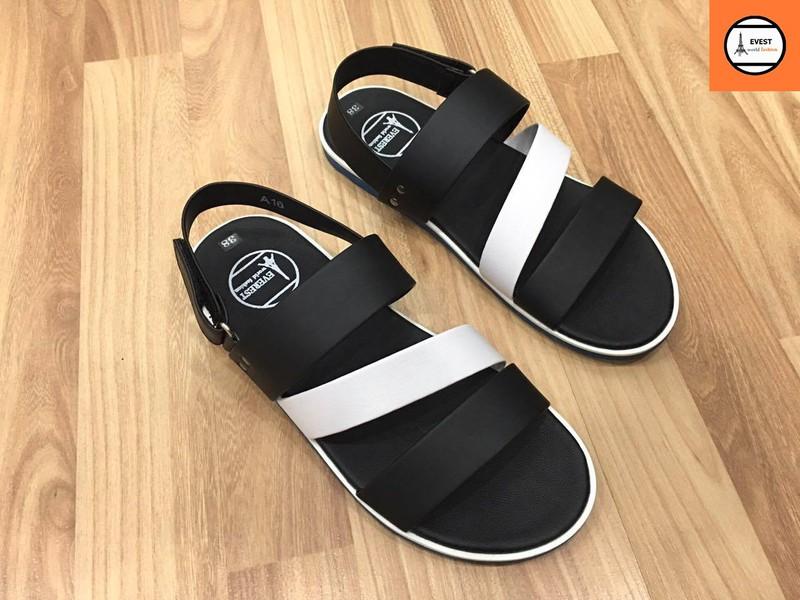 Giày sandal 3 quai ngang nam thời trang 1