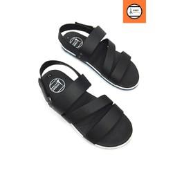 Giày sandal 3 quai ngang phong cách