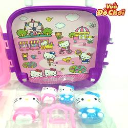 Vali Kéo Hello Kitty - Đồ Chơi Mèo Hello Kitty