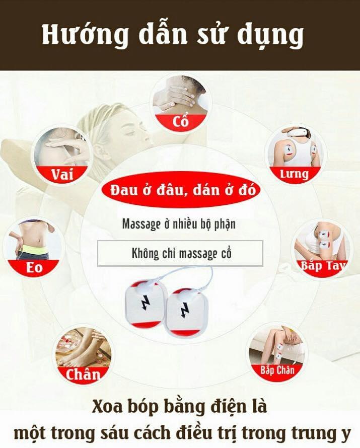 máy massage - Máy massage cổ trị liệu chính hãng cao cấp 8