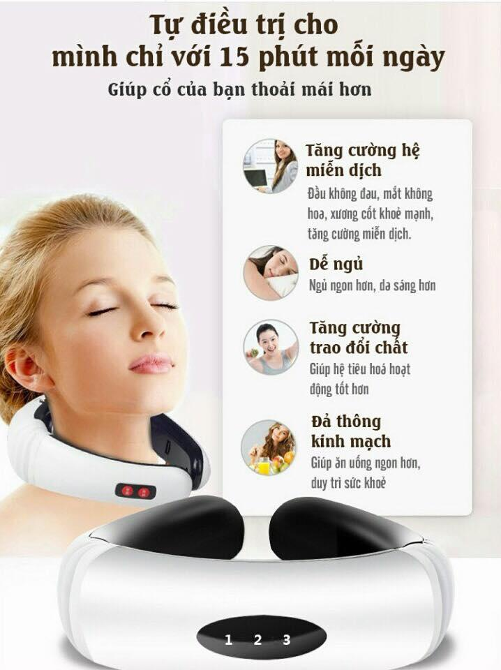 máy massage - Máy massage cổ trị liệu chính hãng cao cấp 5