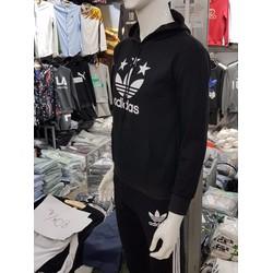 Bộ quần áo thể thao nam có mũ liền rất thời trang và cá tính