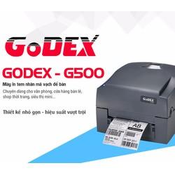 Máy in mã vạch godex g500
