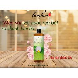 nước rửa chén sả chanh Lam Hà